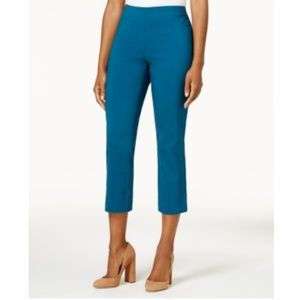 9caf65b9c1b364 Style & Co Pants - Style & Co Pull-On Capri Pants - RICH TEAL